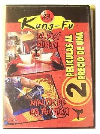 Kung-Fu EL REY NINJA - NINJAS DE LA JUSTICIA DVD - Como ...