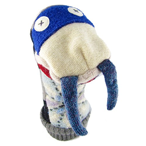 uppet - Premium Reclaimed Wool - Handmade in Canada - Machine Washable (Walrus) ()