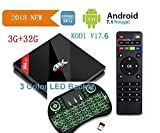 LCBOX Toronto-Store (Update Version) NewPal H96Pro+ Plus 3G DDR 32G 4K KODI V17.6 full loaded TV BOX Amologic 8 core 64 bit CPU 2.4G/5G WIFi tv box media player+MINI Wireless Keyboard