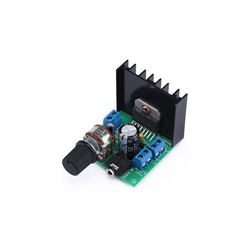 DROK TDA7297 15W+15W Audio Power Amplifi