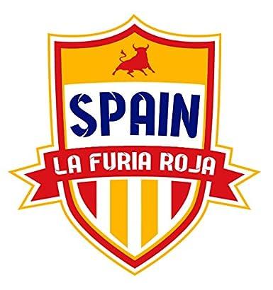 Amazon.com: Spain La Furia Roja Hero Tee: Sergio Busquets ...