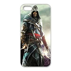 Assassins Creed Black Flag iPhone 4 4s Cell Phone Case White O6661127