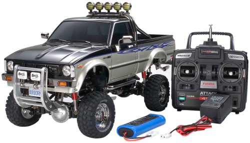 1/10 RC TOYOTA HILUX HIGH-LIFT COMPLETE KIT 57060 (Body Hilux Tamiya)