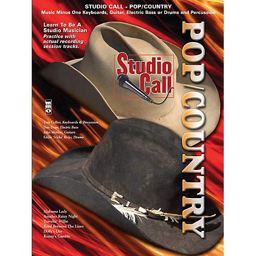 Studio Call Pop/Country Minus Drums Music Minus One Series Softcover with CD Pack of 2