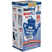 Neilmed Neti Pot Natural Soothing Saline Nasal Wash
