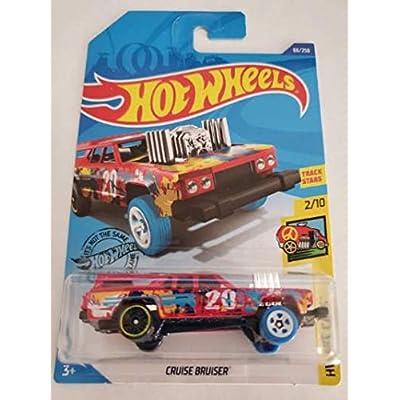 Hot Wheels 2020 Hw Art Cars Cruise Bruiser, Red 66/250: Toys & Games