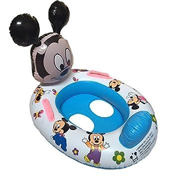 HBJ Silla para niños gestiona grosor niños hinchable antigolpes pato animales svegli Mickey flotador Anillo con tirador 1: Amazon.es: Deportes y aire libre