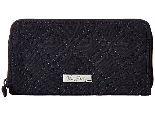 - Vera Bradley Women's RFID Georgia Wallet Classic Navy One Size