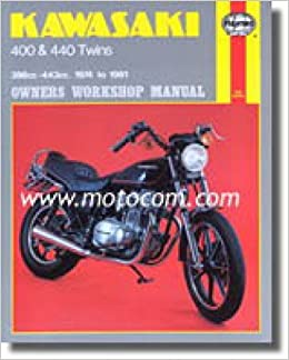 h281 haynes kawasaki kz400 440 1974-1981 motorcycle repair manual:  manufacturer: amazon com: books