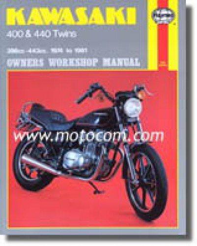 H281 Haynes Kawasaki KZ400 440 1974-1981 Motorcycle Repair Manual