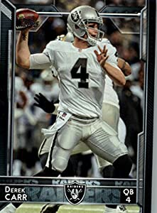 2015 Topps #190 Derek Carr - Oakland Raiders (NFL Football Cards)