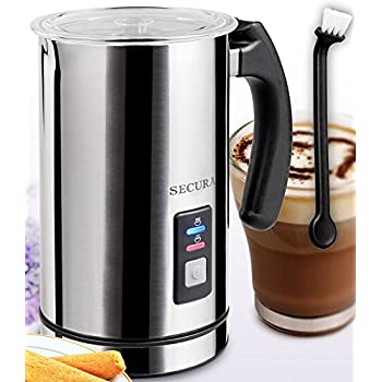 Secura Automatic Electric Milk Frother and Warmer (500ml) MMF-603