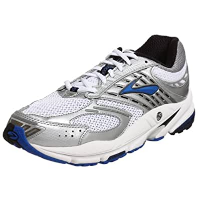 Brooks Men's Beast Running Shoe,Pearl White/Silver/Crest/Black/White,16 D