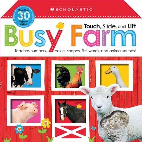 Price comparison product image Scholastic Noisy Farm: My First Sound Book