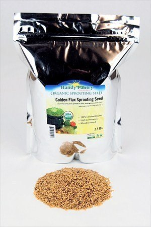 Organic Golden Flax Seeds Resealable product image