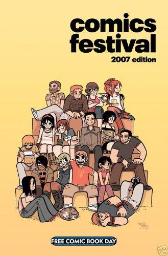 Download FCBD Comics Festival 2007 Edition Scott Pilgrim Cover (Free Comic Book Day) ebook