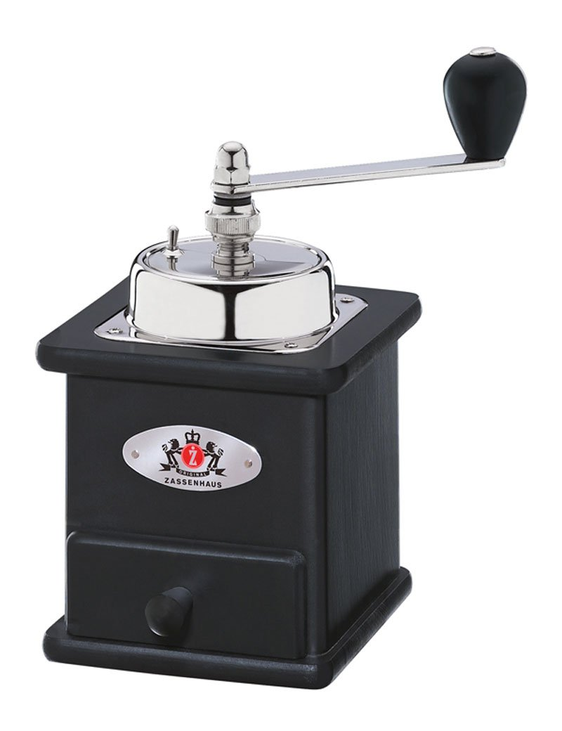 Zassenhaus 040166 Brasilia Coffee Hand Coffee Quality Grinder Mill Black Genuine by Zassenhaus