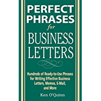 Perfect Phrases for Business Letters (Perfect Phrases Series) (English Edition)