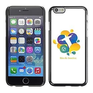 Carcasa Funda Case // V0000674 Rio de Janeiro // Apple Iphone 6 4.7