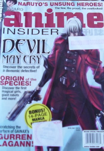 Anime Insider Magazine Volume 53 February 2008 Devil May Cry