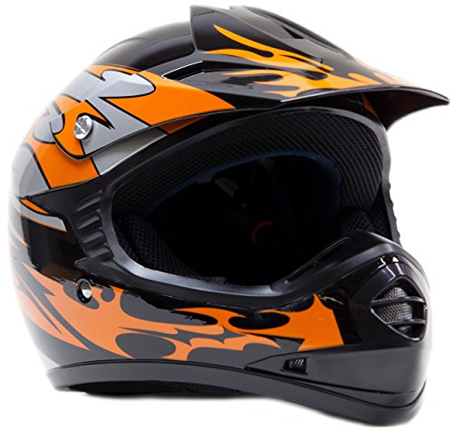Youth Kids Offroad Helmet DOT Motocross ATV Dirt Bike MX Motorcycle -...
