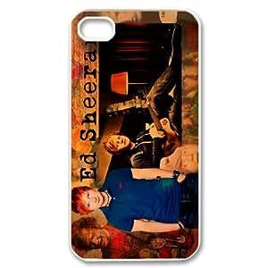 Steve-Brady Phone case Ed Sheeran Singer For Iphone 4 4S case cover Pattern-16