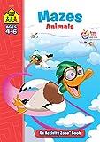 School Zone - Mazes Animals Workbook - Ages 4 to 6, Eye-Hand Coordination, Patience, Focus, Illustrations, and More (School Zone Activity Zone Workbook Series)