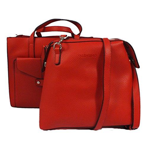 Valentino  Yatch, Damen Umhängetasche Rot rot 32x26x14