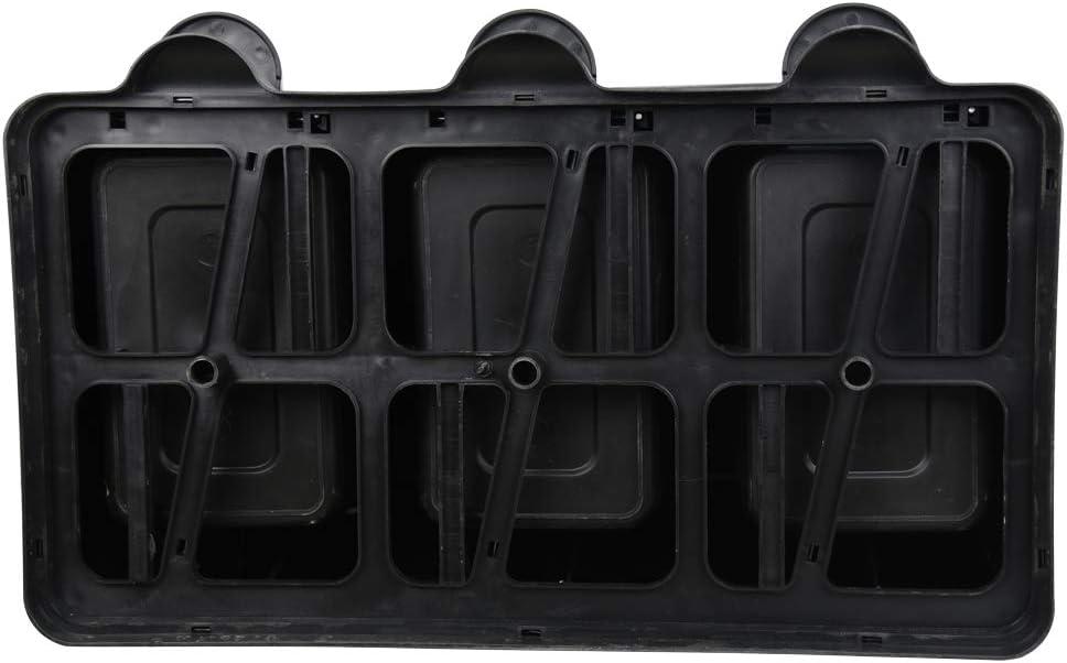Ribelli Pattumiera in acciaio inox pattumiera differenziata pattumiera a pedale contenitore rifitui 60 L 3 x 20L