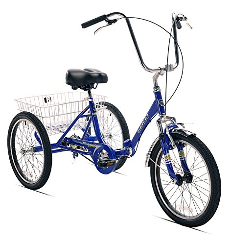 - Kent Adult Westport Folding Tricycle