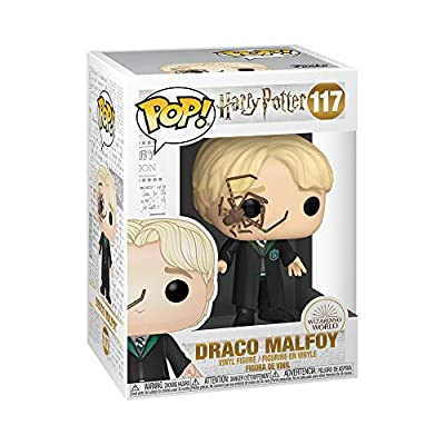 Funko Pop! Harry Potter: Harry Potter - Malfoy with Whip Spider: Toys & Games
