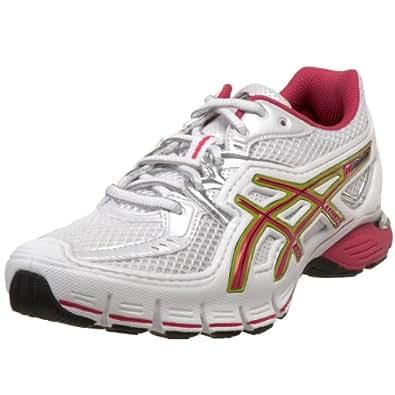 ASICS Women's GEL-SD-Lyte Running Shoe,White/Raspberry/Lime,11.5 M