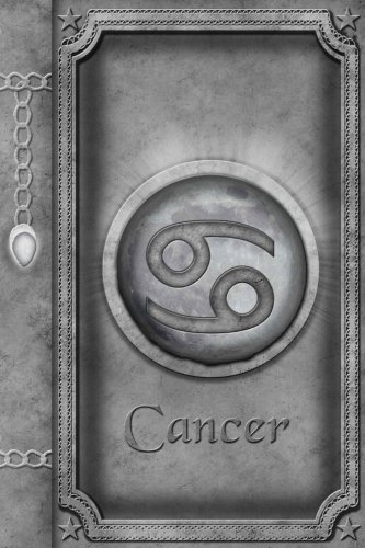 Sign Zodiac Horoscope Cancer (Cancer: Zodiac Sign Horoscope Lined Journal A4 Notebook, for school, home, or work, 150 Pages, 6