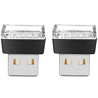10 PIECES 5V Mini USB LED Car Interior Light Neon Atmosphere Ambient Lamp