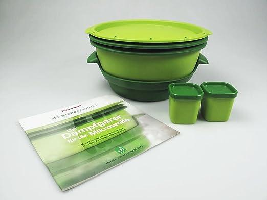 Tupperware I101 Micro Gourmet + de vapor para microondas moldes de ...