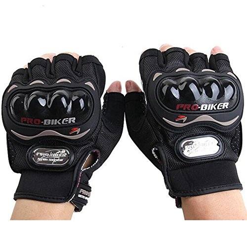 PROBIKER MCS - 04C Motorcycle Racing Half-finger Protective Gloves