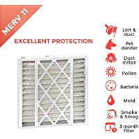 20x25x5 MERV 11 Replacement Filters for Trion Air Bear. 2 Pack