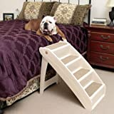 PetSafe Solvit PupSTEP Plus Pet Stairs, X-Large, Foldable Steps for Dogs and Cats, Best for Medium to Large Pets