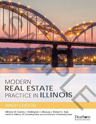 Modern Real Estate Practice in Illinois 9th - Schwartz Kyle