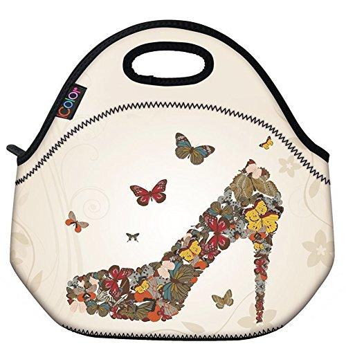 Designer Vinyl Tote Bags - 6