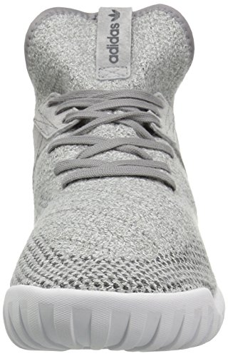 Adidas Heren Buisvormige X Pk Mode Sneaker Grijs / Nut Zwarte Kristal Witte S