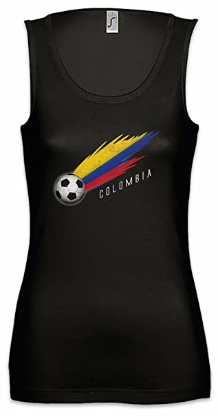 Urban Backwoods Colombia Football Comet Mujer Camiseta Sin Mangas Tank Top Sizes S - XL
