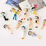 STORE-DECORATIVE - Beauty Girl Sexy Miniature Figurine Cartoon Character Anime garden Cake Decoration figures pvc action model doll toy TNS092