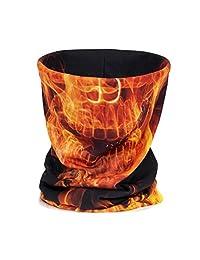 Obling Bandana Mask Headwear Neck Gaiter Winter Unisex Headband Scarf Balaclava
