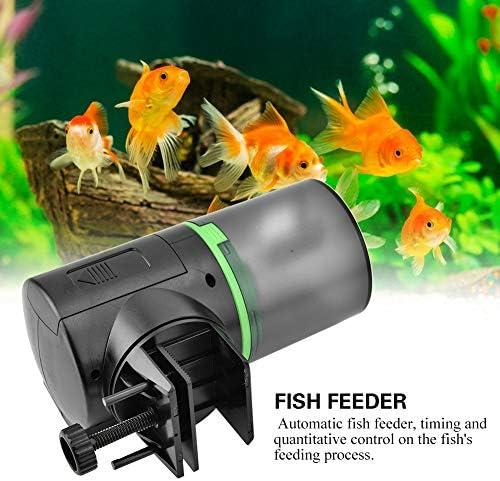 Alimentador automático de peces acuario dispensador de alimentos acuario casero 7