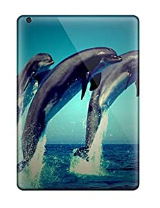 Best 2007408K64157377 Tpu Fashionable Design Dolphin Rugged Case Cover For Ipad Air New