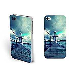 Beauty Art Building Series Hard Plastic Design Case for Iphone 4 4s (bridge SG0138)