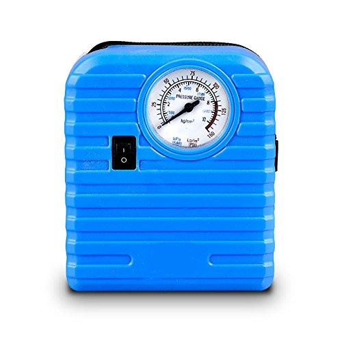 Su-luoyu compressore d' aria 12 V portatile auto gonfiabile pompa mini ad alta pressione Gonfiatore forte potere ultra-silenzioso