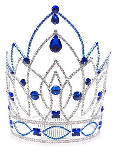 Blue Rhinestone Jennifer...