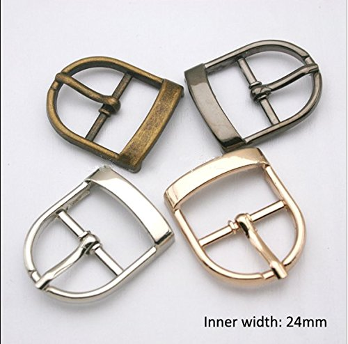 Buckes - Wholesale 16pcs/lot Fashion Metal Shoe Buckle Belt Buckle pin Buckle Multiple Colors BK-003 - (Size: Mixed Color) from Lysee